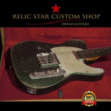 RELIC STAR CUSTOM SHOP American Ash Telecaster metallic green