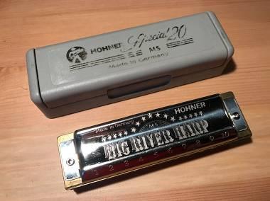 BIG RIVER armonica customizzata con Comb in alluminio