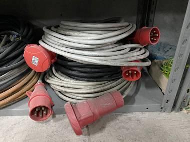 svendo cavi corrente 380V/400V trifase 5 poli varie lunghezze 16/32A
