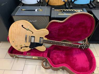 Gibson ES-335 Dot Natural flame top and back del 1997 PERFETTA