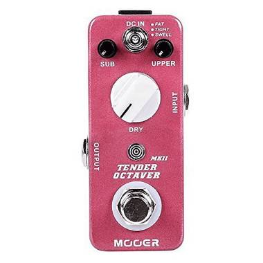 MOOER TENDER OCTAVER MKII - EFFETTO OCTAVER A PEDALE PER CHITARRA ELETTRICA