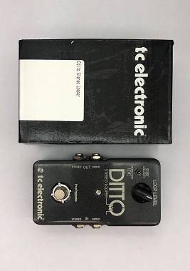 TC ELECTRONIC DITTO STEREO LOOPER - EFFETTO LOOPER STEREO A PEDALE