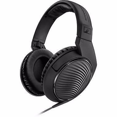 SENNHEISER HD 200 PRO OVER - EAR MONITORING - CUFFIA MONITOR CIRCUMAURALE NERA