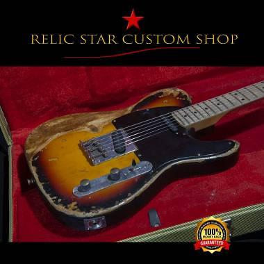RELIC STAR CUSTOM SHOP t-'50 alnico 5 David Gilmour style Telecaster