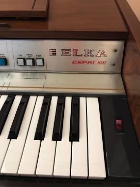 Organo vintage Elka Capri 101 usato 250€