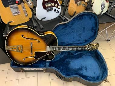 Gibson Super 400 CES (L-5 ES-175 BYRDLAND) sunburst del 1977 + CASE
