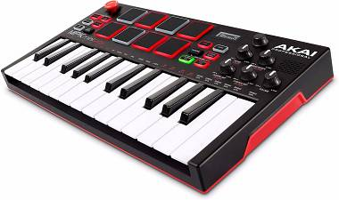 AKAI MPK mini PLAY CONTROLLER MIDI USB 128 suoni inclusi e 16 drum kit