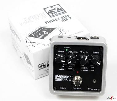 Palmer MI POCKET AMP MK2 Portable Guitar Preamp