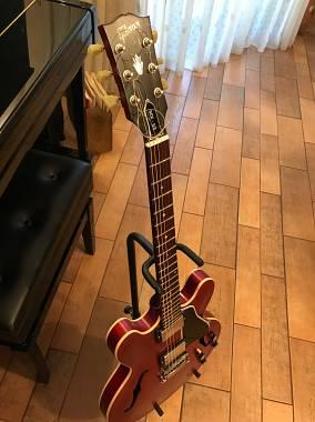 Gibson Custom Shop  Es 335 Cherry faded Dot 2010 reisseu
