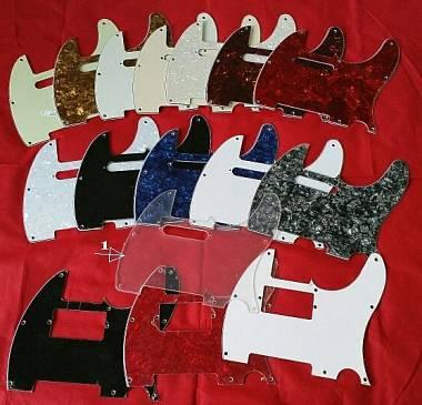 Pickguard 3M Telecaster vari modelli e colori