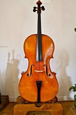 Violoncello francese 4/4 Marc Laberte del 1922 (con certificato)