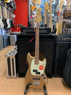 Fender MUSTANG BASS PJ Firemist Gold