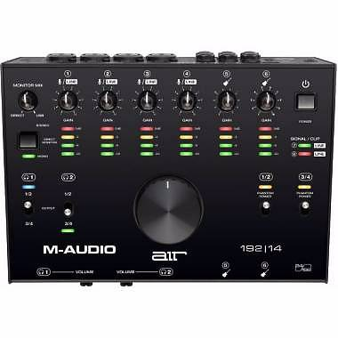 M-AUDIO AIR 192-14 INTERFACCIA AUDIO USB/MIDI 8-IN 4-OUT