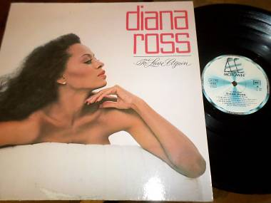 DIANA ROSS - To Love Again - LP / 33 giri 1981 Motown