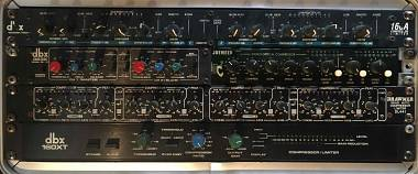 dbx 160x - Drawmer DL441 - Joemeek MC2 - dbx 363X - dbx 166A