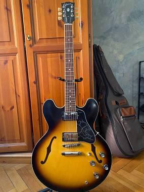 Gibson ES-335 Satin + Case + Gigbag MONO
