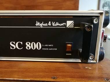 Hughes & Kettner SC 800 Amplificatore 2 canali 400 watt per canale