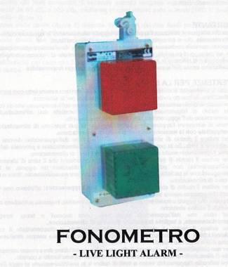 Fonometro Live Light Alarm