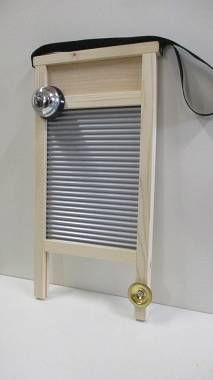 WASHBOARD con campanello e piatto