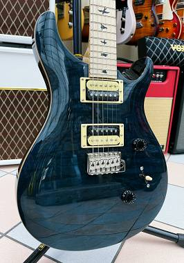 PRS SE CU24 QUILTED MAPLE VINTAGE Whale Blue LIMITED EDITION