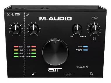 M-AUDIO AIR 192-4 INTERFACCIA AUDIO MIDI/USB 2-IN 2-OUT