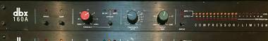 DBX Professional 160A Compressor / Limiter Signal Processor
