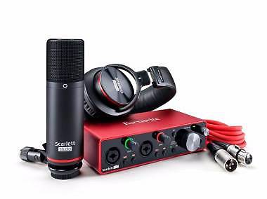 FOCUSRITE SCARLETT 2I2 STUDIO 3RD GEN 2-IN / 2-OUT USB AUDIO INTERFACE