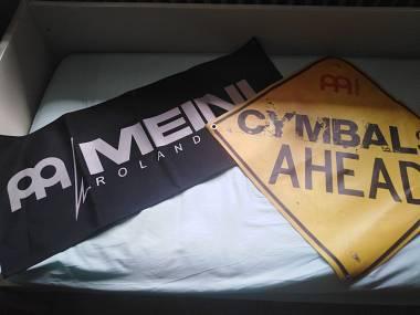 Meinl bandiere teli pubblicitari 2 pz