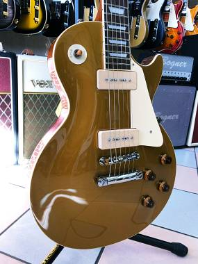 Tokai TOK-ULS132S GT P90 Gold Top Made in Japan Vintage LP Style