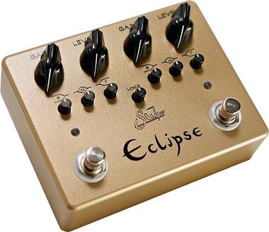 SUHR ECLIPSE GOLD 2020 LIMITED EDITION OVERDRIVE/DISTORTION SPEDITO GRATIS !