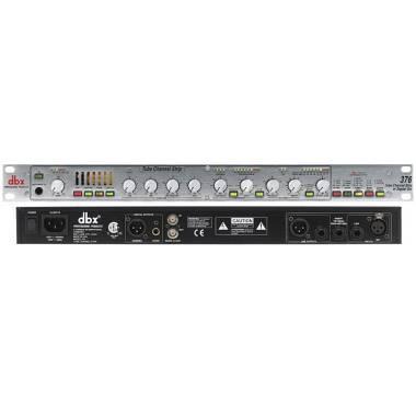 DBX 376 preamplificatore valvolare Channel strip
