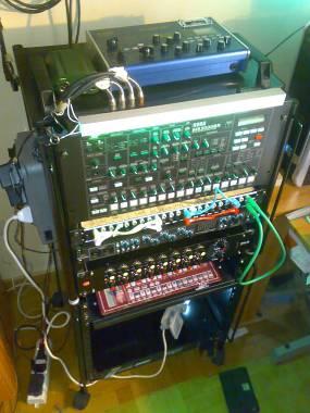 Proel mobile rack