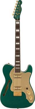 Fender Limited Edition Super Deluxe Thinline Telecaster  Sherwood Green Metallic