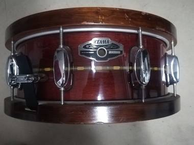 Rullante Tama Oak Monoply snare 14x5,5 limited edition cherry wood hoops