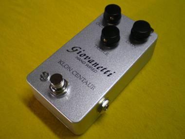 Klon Centaur silver clone compact