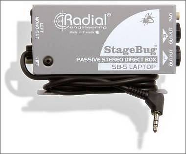 RADIAL ENGINEERING SP-5 STEREO DIRECT BOX