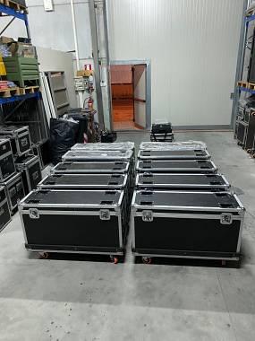 Ultimi 3 flightcase multiuso 105x55x35 con ruote NUOVI
