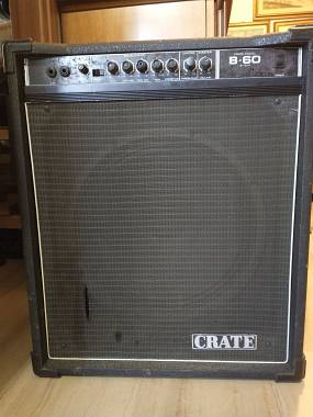 Ampli Basso Crate B-60 combo made in USA
