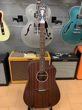 D'Angelico Guitars Premier Gramercy Mogano