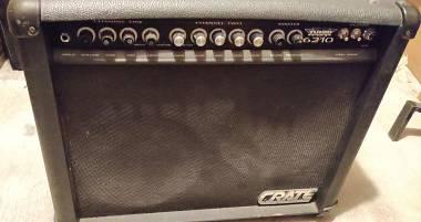 Crate TV 6210 valvolare (made in USA) VENDO O SCAMBIO con chitarra tipo Les Paul