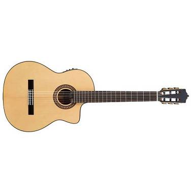 Martinez Guitars.com MFG-AS-CE chitarra classica Agathis e Abete,elettrificata