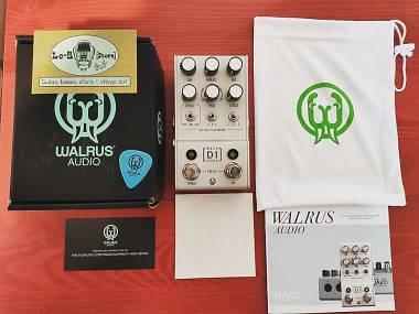 Walrus Audio Mako Series D1 High- Fidelity Stereo Delay - IN PRONTA CONSEGNA!