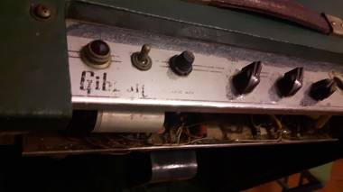 Amplificatore VALVOLARE  Gibison  GA 20   39740-serie  60 watts  mod.  anni 60.
