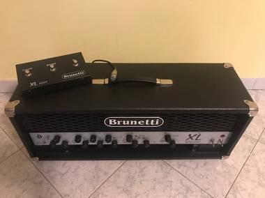 Brunetti XL 60W amplificatore testata valvolare chitarra