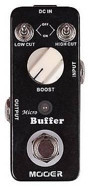 MOOER MICRO BUFFER - BUFFER PEDAL - EFFETTO BUFFER