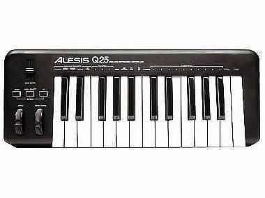 ALESIS Q25 - TASTIERA E CONTROLLER MIDI USB 25 TASTI