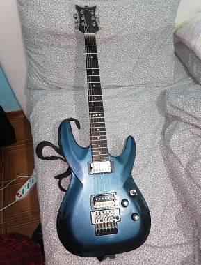 DBZ Guitars Barchetta Cobalt Blue Floyd Rose