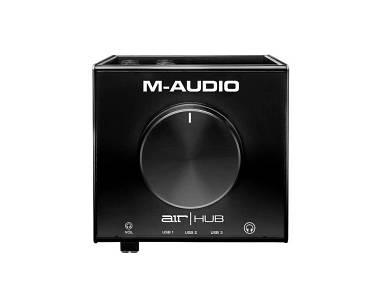 M Audio AIR HUB INTERFACCIA AUDIO USB CON HUB A TRE PORTE