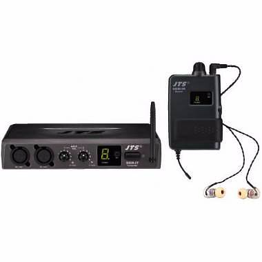 JTS - SIEM-2T/SIEM-2R+IE1 UHF MONITORING SYSTEM IN EAR MONITORING SYSTEM