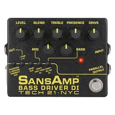TECH 21 SANSAMP BASS DRIVER DI V2 - DIRECT BOX E PREAMPLIFICATORE PER BASSO